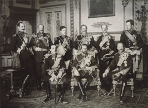 7 monarchs attending king edward vii funeral